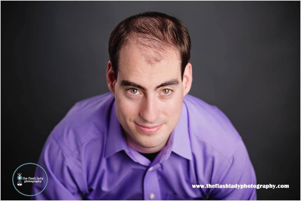 Daniel Zipadelli Professional Headshots by The Flash Lady Photography, Newington, CT