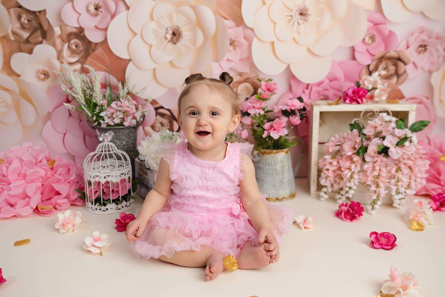 Custom milestone photos of babies and toddlers by Hartford, CT photographer The Flash Lady Photography
