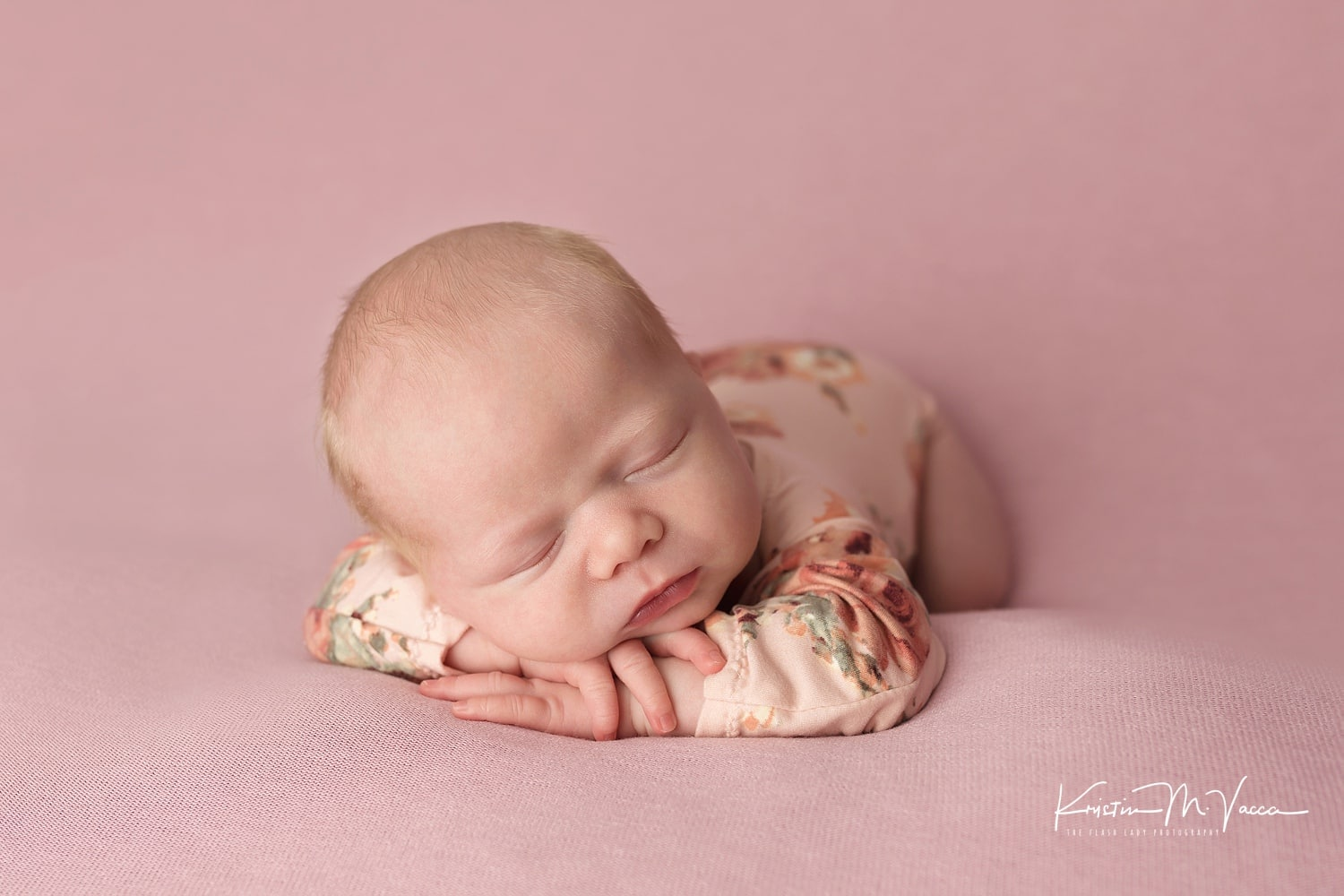 Jacqueline's professional newborn photography session by Connecticut photographer The Flash Lady Photography