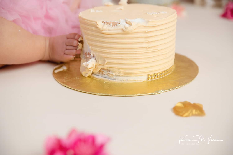 Zoey 1st Birthday Cake Smash Newington Ct By The Flash Lady