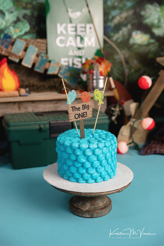 Joshua Fishing Cake Smash Ct Cake Smash Photographer