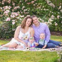 McCabe Family | Fun Family Photos at Elizabeth Park | Hartford, CT Family Photographer