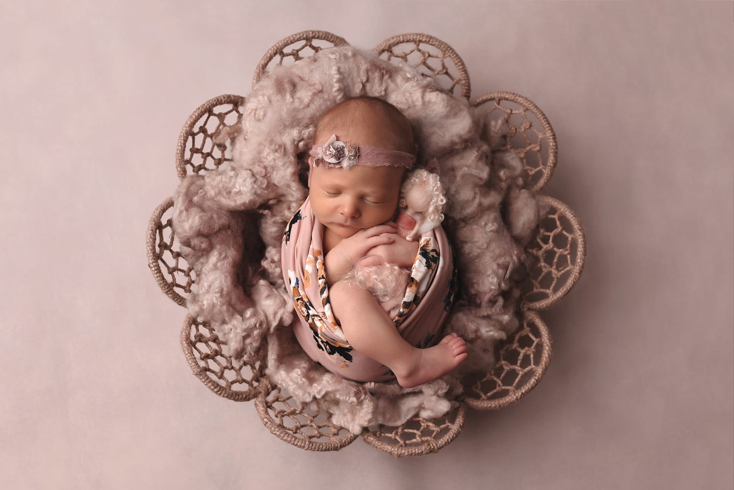 Artistic studio newborn photography by Newington, CT photographer The Flash Lady Photography
