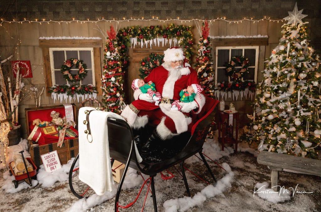 The Santa Experience Santa Claus Photos by Newington, Connecticut photographer The Flash Lady Photography