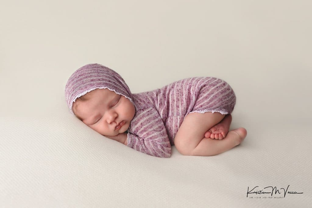 Photos from our fine art newborn photography session with baby Noelle by Plainville, CT photographer The Flash Lady Photography