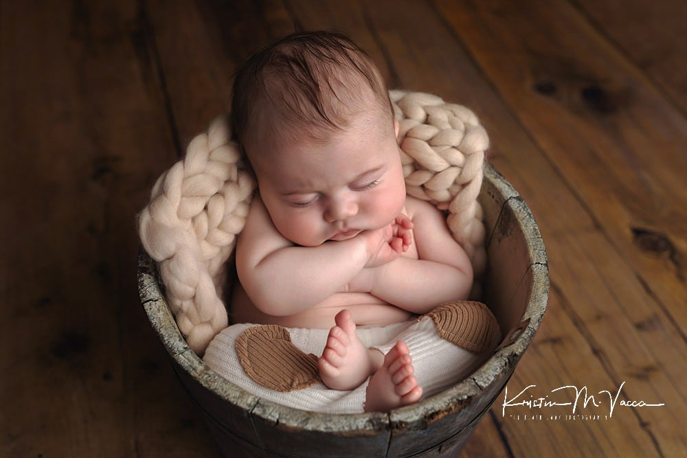 3 month milestone photos of baby Connor by Newington, CT baby photographer The Flash Lady Photography