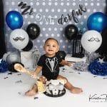 Jeremiah | Mr Onederful Cake Smash | Plainville, CT Cake Smash Photographer