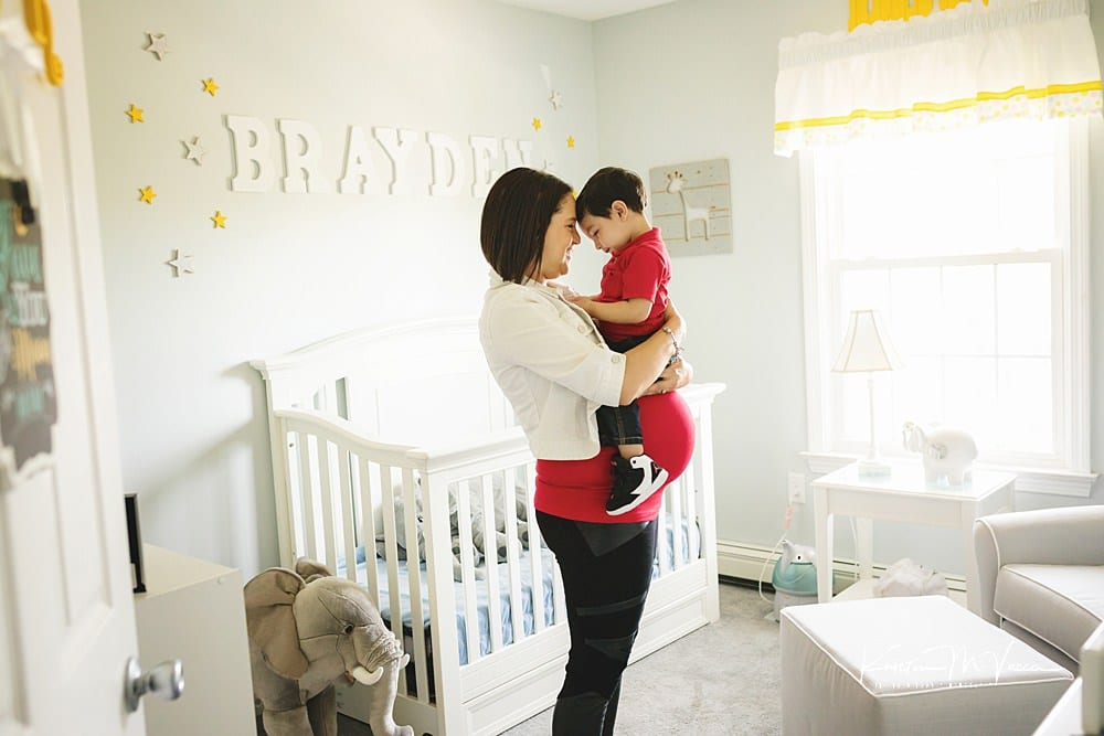 Documentary maternity photography of the R Family by The Flash Lady Photography