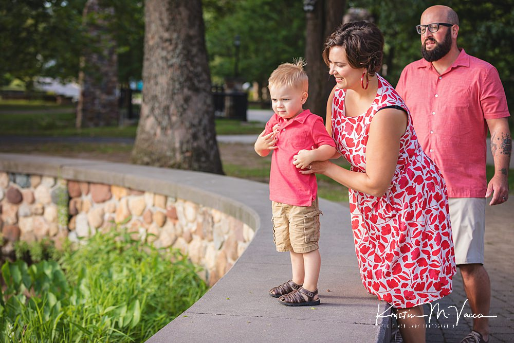 Family summer photos with the P Family by The Flash Lady Photography