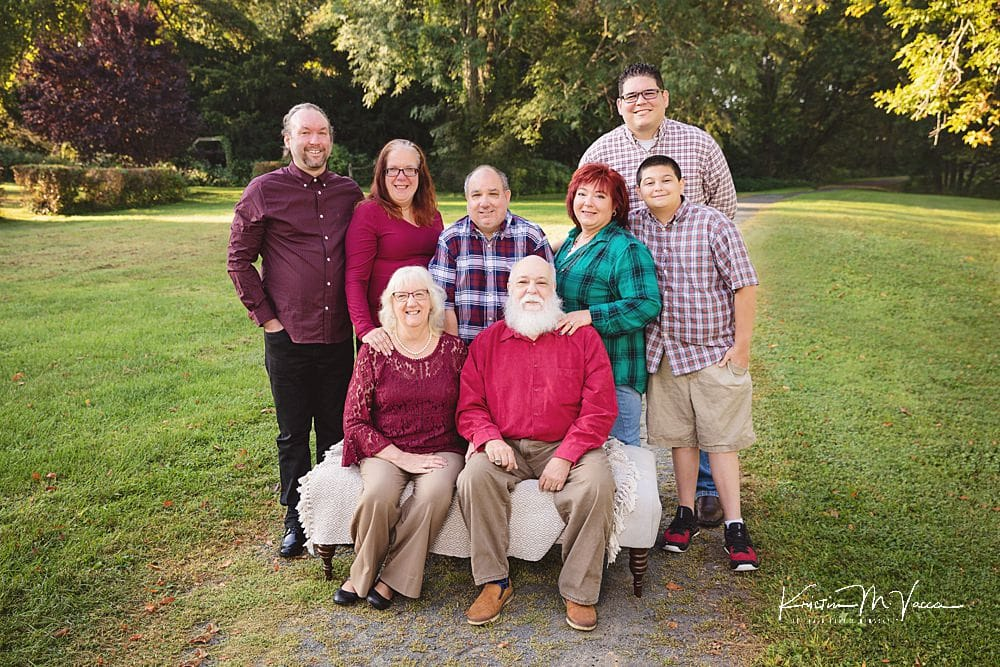 Fall family portrait session with the DesJardins Family by The Flash Lady Photography