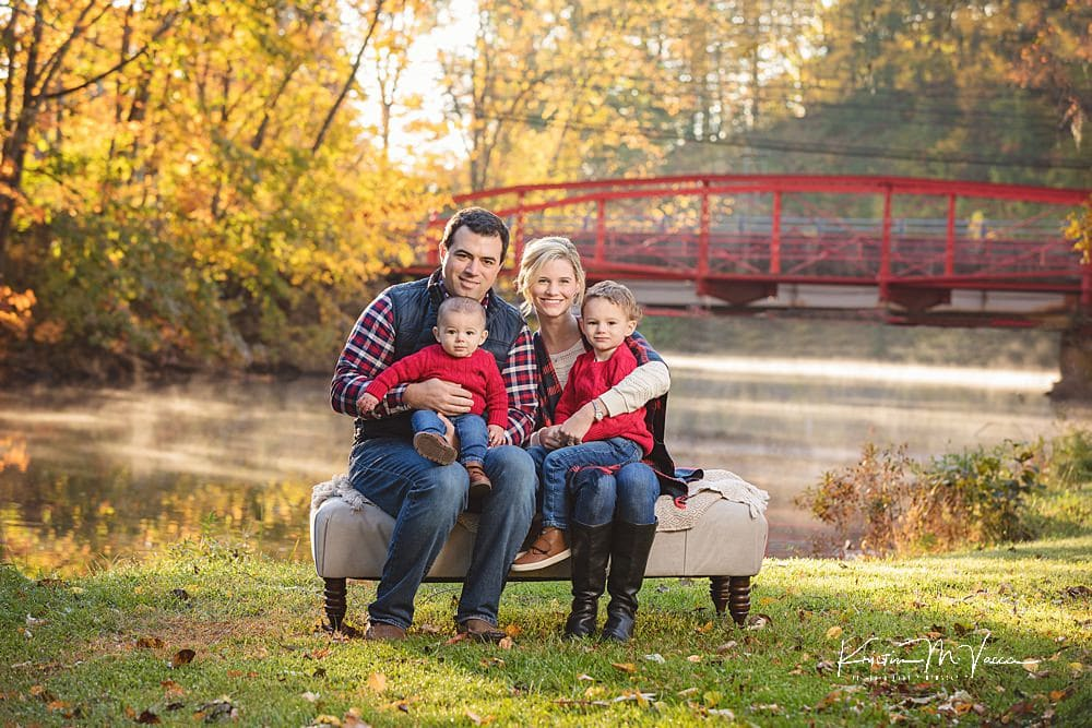 Client fall family photos by The Flash Lady Photography