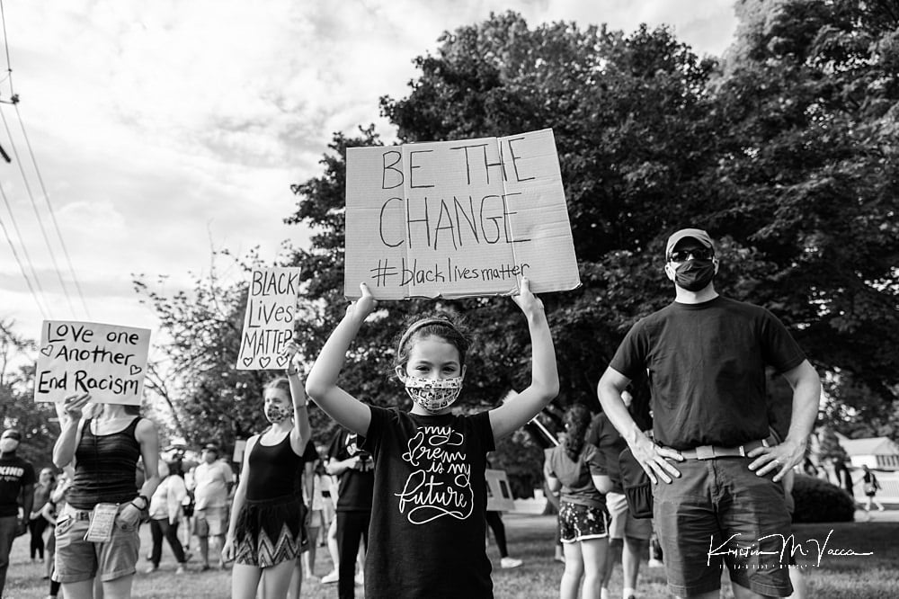 Black Lives Matter protest by The Flash Lady Photography