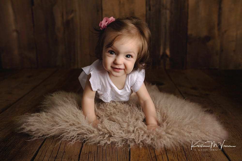 9 Month Milestone Photos by The Flash Lady Photography