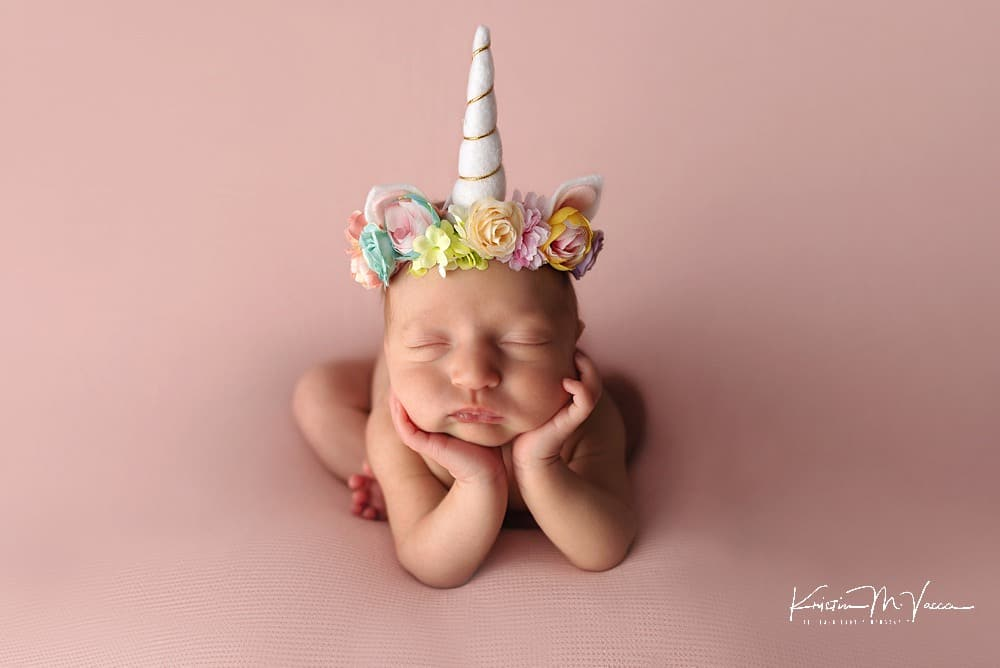 Pastel newborn photos by The Flash Lady Photography