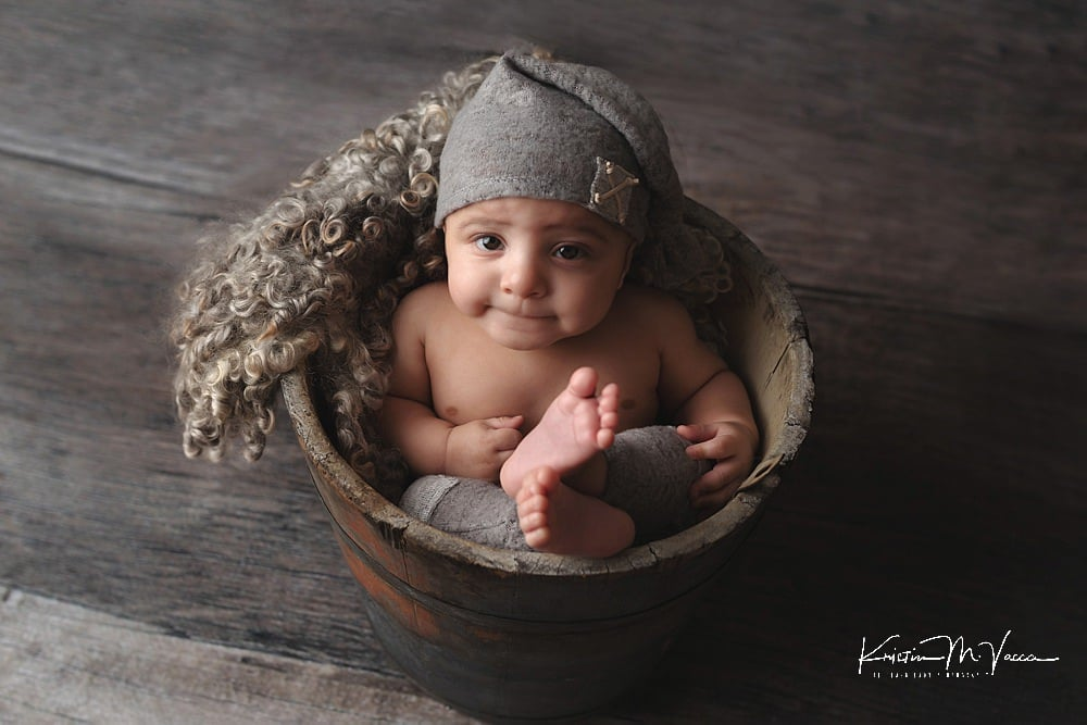 Older newborn photos by The Flash Lady Photography