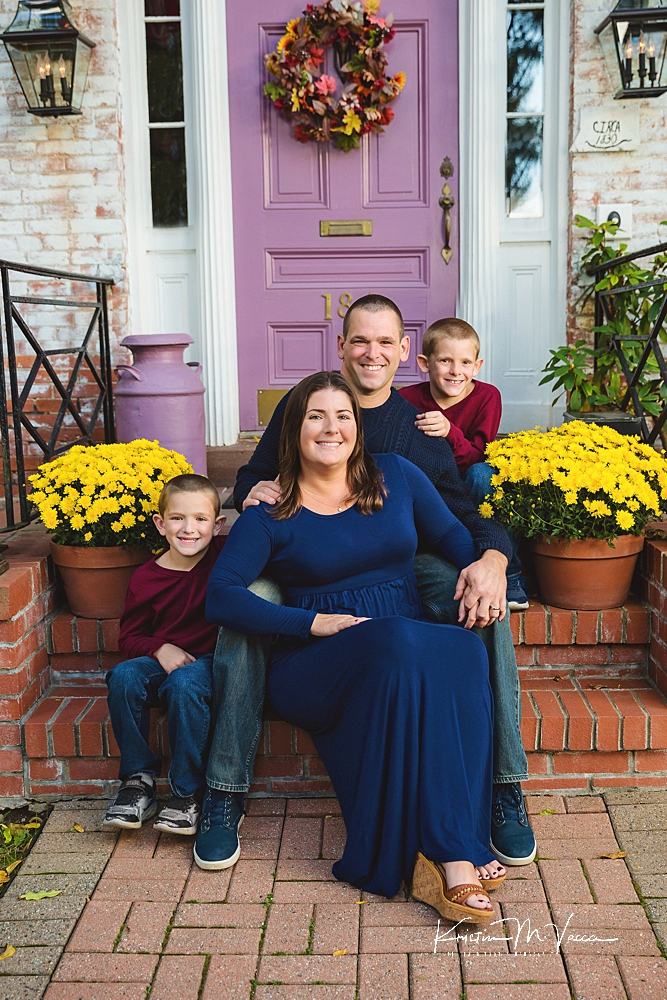 Family photos in Old Wethersfield by The Flash Lady Photography
