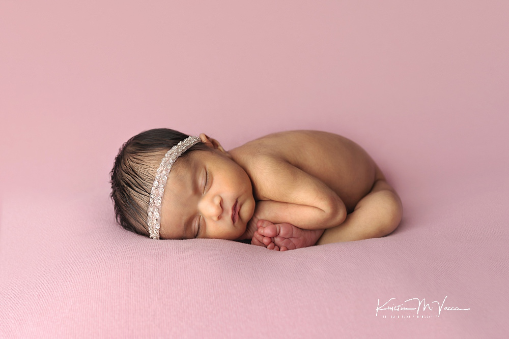 Pink & Lace Newborn Photos by The Flash Lady Photography