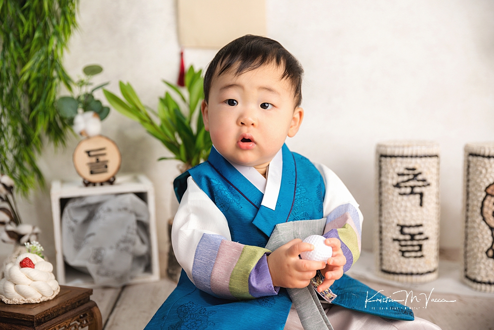 Korean Dol first birthday photos by The Flash Lady Photography