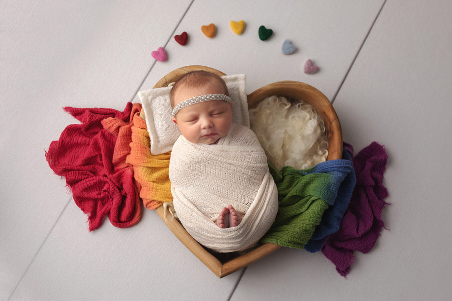 -41Tessa-Cheerleader-Rainbow-Baby-Newborn-Photos