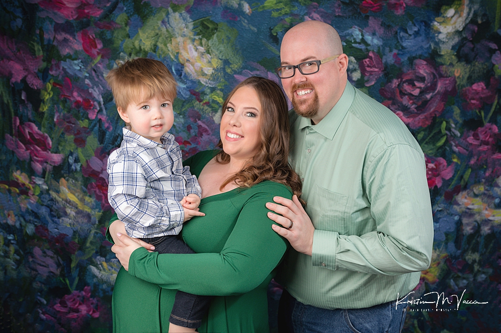 Studio maternity photography by The Flash Lady Photography