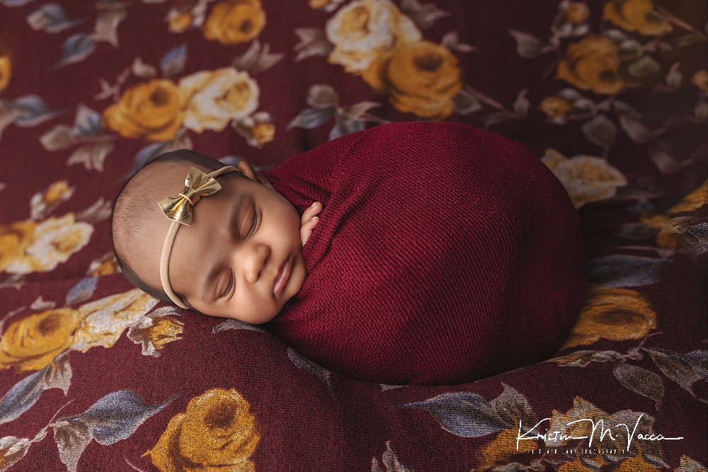 1 month newborn photos by The Flash Lady Photography